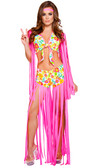 Roma Costume 2Pc Foxy Flower Child