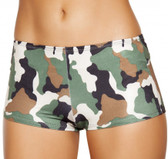 Roma Costume Camouflage Boy Shorts
