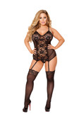 Roma Costume Mini Dress with Ruffle Detail Plus