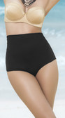 Mapale Classic High Waist Bikini Bottom - Black
