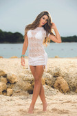 Mapale Lace Cover-Up Dress
