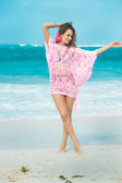 Mapale Pretty in Pink Cover-Up Dress