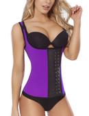 Moldeate Vest Waist-Cincher - Purple