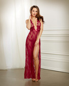 Dreamgirl Holiday Lace Gown & G-String