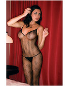 Rene Rofe Floral Lace Bodystocking