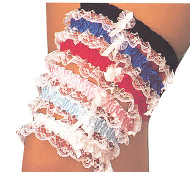 Elegant Moments Assortment of leg garters (3555)