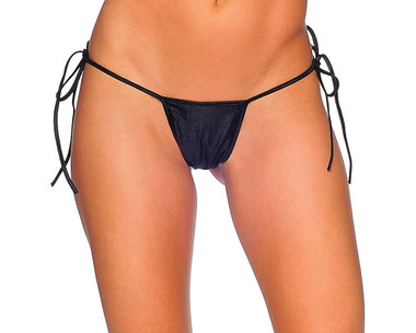 BodyZone Tie Side T-Back - Black