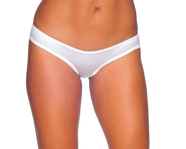 BodyZone Scrunch Hip Half Back - White