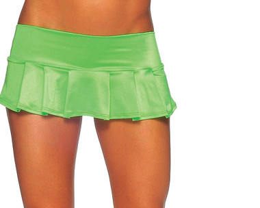 BodyZone Micro Pleated Skirt - Neon Green