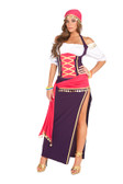 Elegant Moments 5Pc Gypsy Maiden Costume