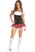 Elegant Moments 2Pc Frisky Freshmen School Girl Costume