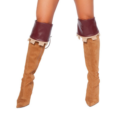 Roma Costume Boot Cuffs 4265B