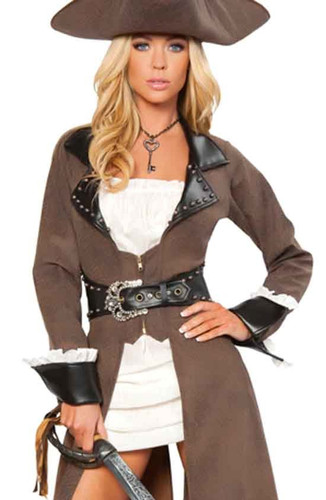 Roma Costume Deluxe Pirate Captain