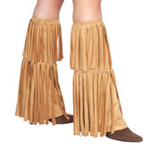 Roma Costume Fringed Leg Warmer