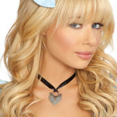 Roma Costume Heart Necklace