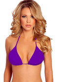 Roma Costume Adjustable Triangle Top 5 - Purple
