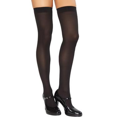 Roma Costume 201 Thigh High Stockings - Black