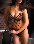Fearless and Fun Lingerie Strappy Black Body HELEN