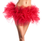 Be Wicked Petticoats- Organza Tutu - Red