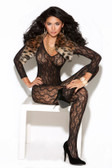 Elegant Moments Long Sleeve Bodystocking