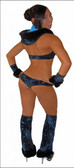 Blue Orchid Exoticwear Feature Set Glamour Fur 7 PC Set