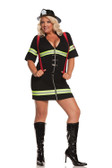 Elegant Moments 2Pc Ms. Blazin Hot Costume Queen Size