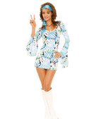 Elegant Moments 2Pc Retro Print Costume