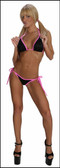 Blue Orchid Exoticwear Sweet Cheeks 6 Packs 2 Pc Short Set
