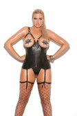 Elegant Moments Queen Size Leather G-String