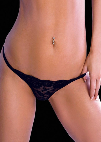 BodyZone Crotchless Lace Thong
