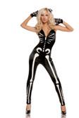 Elegant Moments 3Pc Sexy Skeleton Costume
