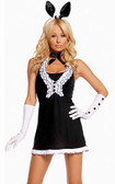 Elegant Moments 5Pc Playtime Bunny Costume