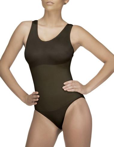 Vedette Women's Ines Shaping Tank Bodysuit - Black