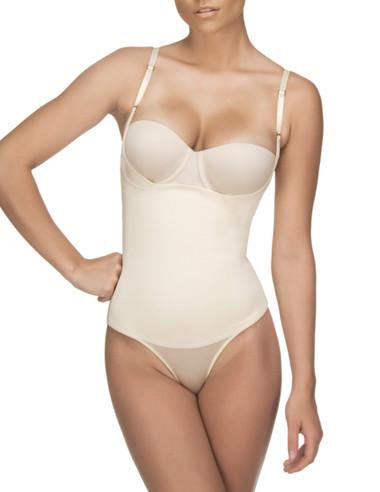 Vedette Women's Evonne Underbust Bodysuit in Bikini - Nude