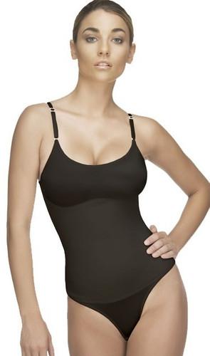Vedette Women's Lea Bodysuit in Thong - Black