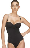 Vedette Women's Evonne Underbust Bodysuit  in Thong - Black