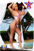 Starwear USA Marielle Retro Cut One Piece Swimsuit - Baby Pink Mystique