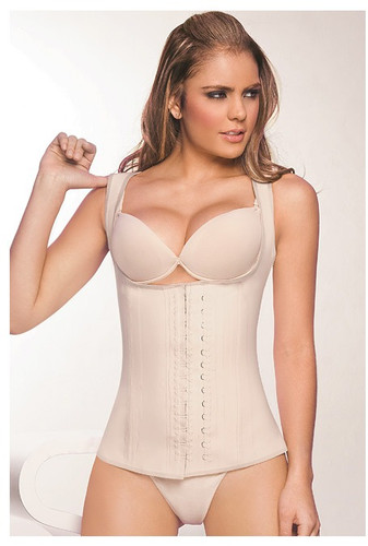Ann Chery 2027 Latex Girdle Body Shaper - Beige