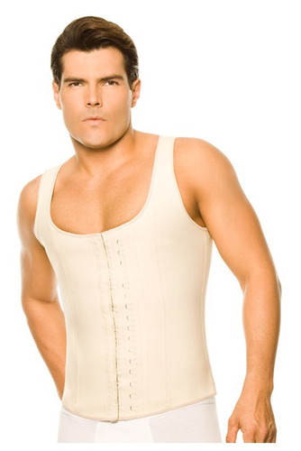 2033 Latex Men Girdle Body Shaper (nude)