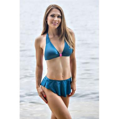Starwear USA Nymph Skirted Bottom and Halter Top Bikini Swimsuit