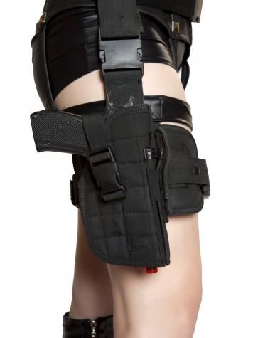 Roma Costume Gun Leg Holster with Belt