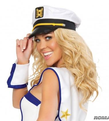Roma Costume Sailor Captain Hat