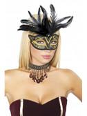 Roma Costume Masquerade Mask