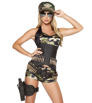 Roma Costume Army Babe