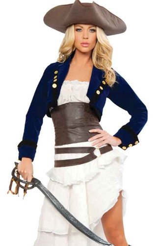 Roma Costume Deluxe Colonial Pirate