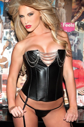 Allure Lingerie Leather Corset