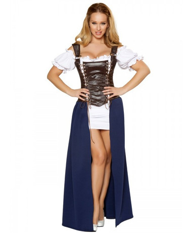 Roma Costume Seductive Serving Wench