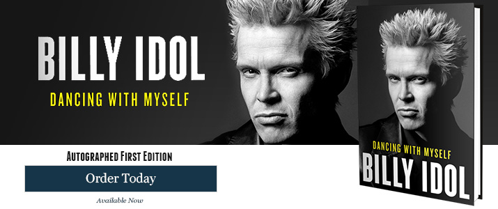 Dancing With Myself - Signed by Billy Idol