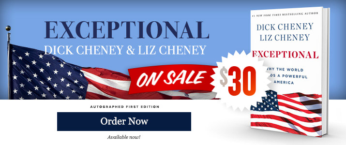 Exceptional - Signed by Dick Cheney