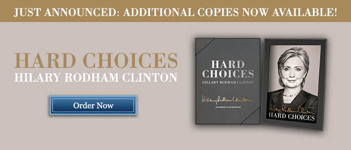 Hard Choices - Signed by Hillary Clinton